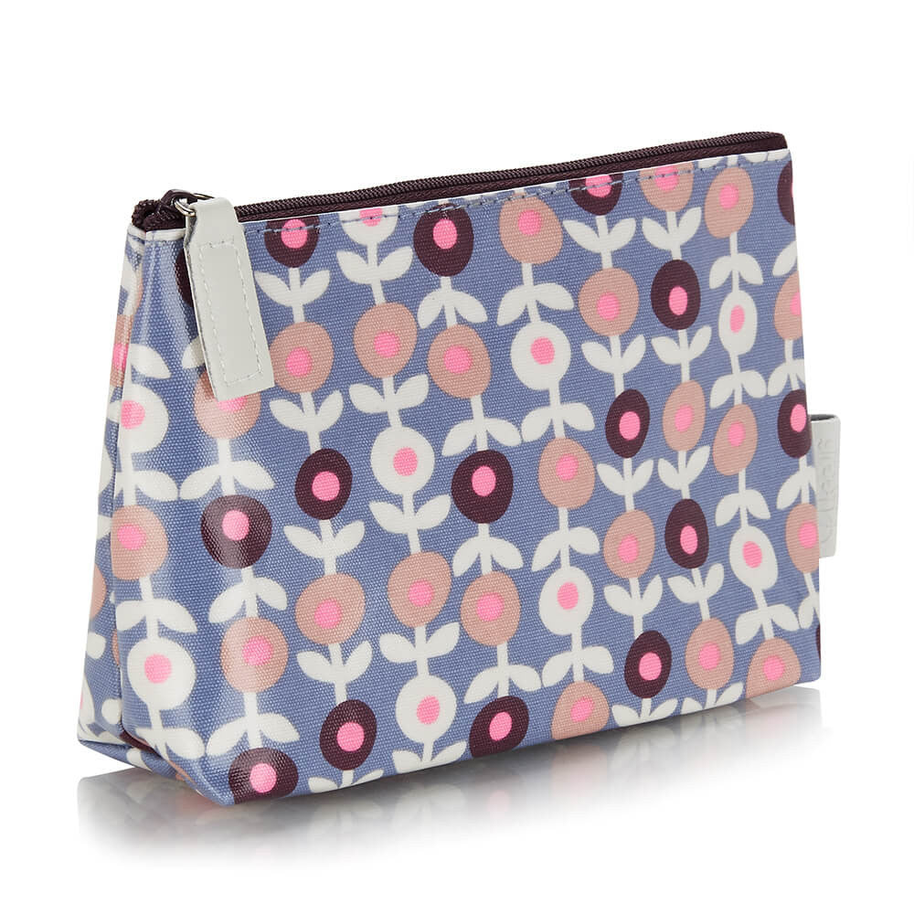 make-up bag in lorton smoke pattern PVC print