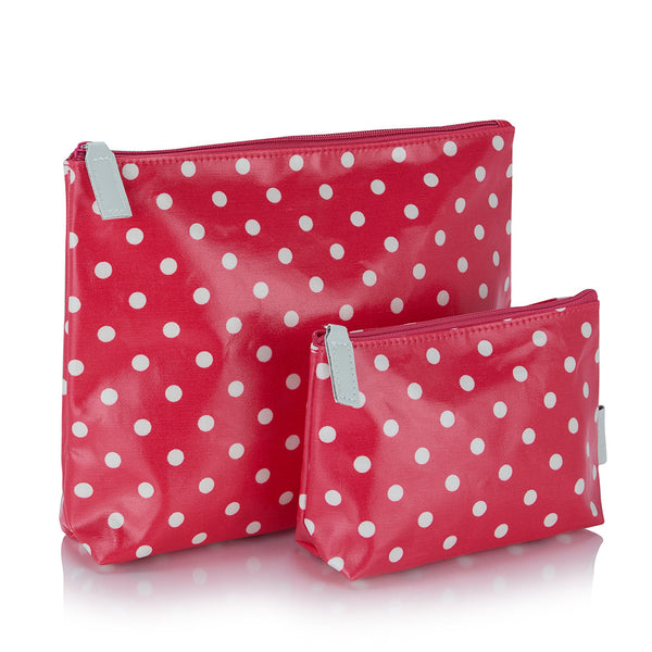 Victoria Green make-up bag set of 2