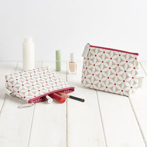 starflower sage makeup bag