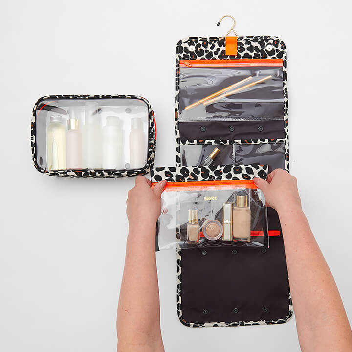 Emma best travel wash bag with detachable compartments
