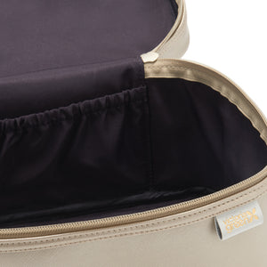 Vanity case interior in gold by Victoria Green