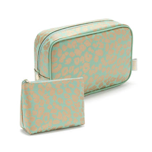 wash bag and small makeup bag gift set