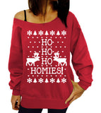 Fashion Christmas deer printing sweater-2