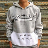 Cute cartoon cat hooded sweater