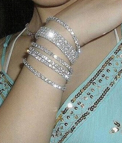 Fashion elastic diamond Bracelet