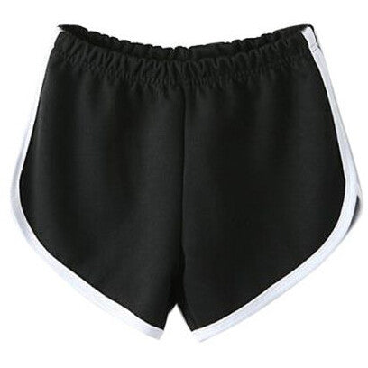 Fashion Black Sport Pants shorts