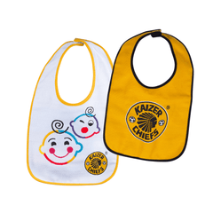 "Kaizer Chiefs  ""I'm a little Chief"" Infant Bib Bundle"