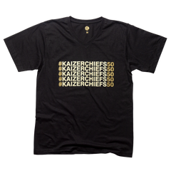 KC – Black V T-Shirt