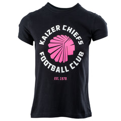 KAIZER CHIEFS LADIES 'KCFC' SLIM FIT T-SHIRT