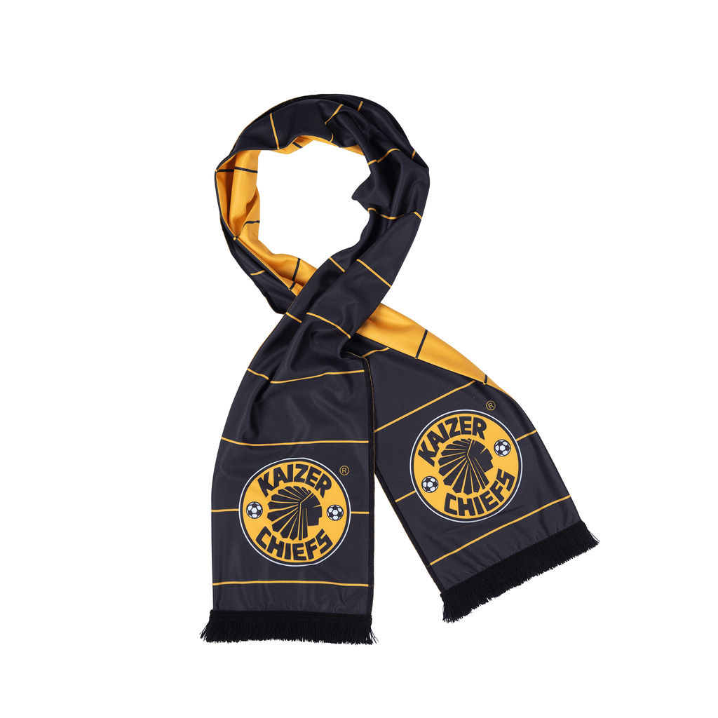 Kaizer Chiefs -Scarf  Soft touch  Double sided
