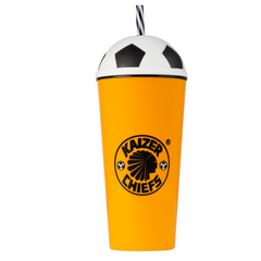 600ml KC Party tumbler with straw