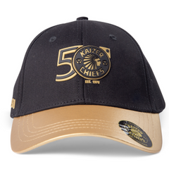 KAIZER CHIEFS 50TH GOLD PEAK CAP