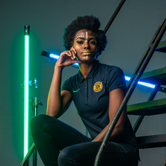 KAIZER CHIEFS LADIES BLACK POLO 2020/21 CI8680-013
