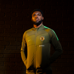 KAIZER CHIEFS TRACK JACKET OLIVE GREEN 2020/21
