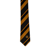 KC Striped tie -Poly Silk