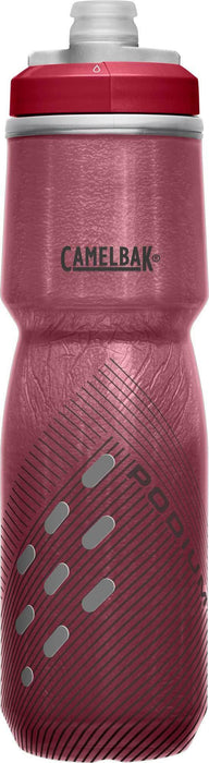 Camelbak Water Bottles 24 oz / Burgundy Perforated Camelbak Podium Chill Bike Bottle, Insulated