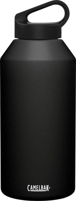 Camelbak Water Bottles Black Camelbak Carry Cap 64 oz Bottle, Insulated Stainless Steel