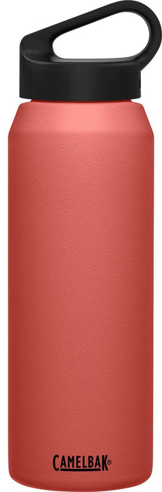 Camelbak Water Bottles Terracotta Rose Camelbak Carry Cap 32 oz Bottle, Insulated Stainless Steel