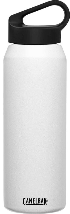 Camelbak Water Bottles White Camelbak Carry Cap 32 oz Bottle, Insulated Stainless Steel