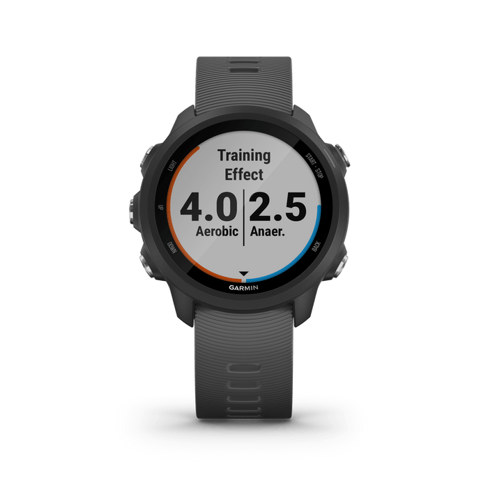 Garmin Running Watches Slate Gray / Non-Music Garmin Forerunner 245 GPS Running Smartwatch Refurbished | 1 Year Warranty