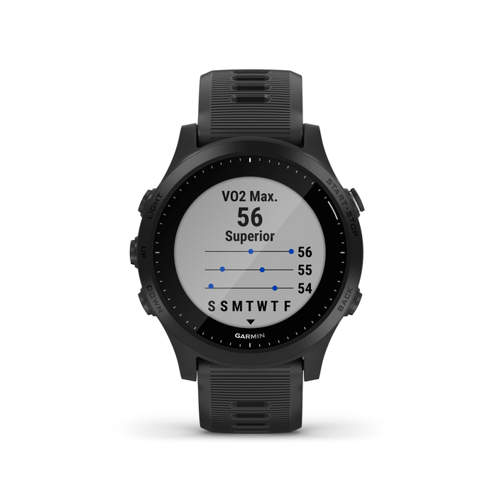 HeartRateMonitorsUSA.com Garmin Forerunner 945 GPS Premium Running Watch - Black