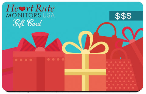 HeartRateMonitorsUSA.com Gift Card Heart Rate Monitors USA Gift Card (Email Delivery)