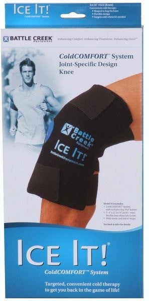Ice It Cold Therapy Ice it!  Knee Cold COMFORT  Pack (Model 512)