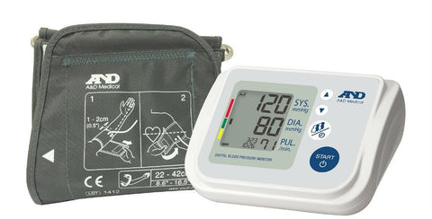 Lifesource Automatic Blood Pressure Lifesource 767F Automatic Blood Pressure Monitor (Wide Range Cuff)