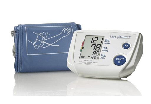 Lifesource Automatic Blood Pressure LifeSource 767PV Auto Inflate Blood Pressure Monitor