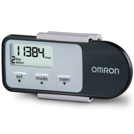 Omron Pedometers Black Omron HJ-321 Triaxis Pedometer