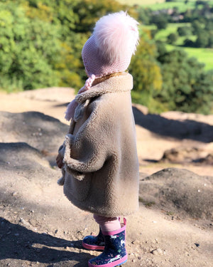 kids teddy coat