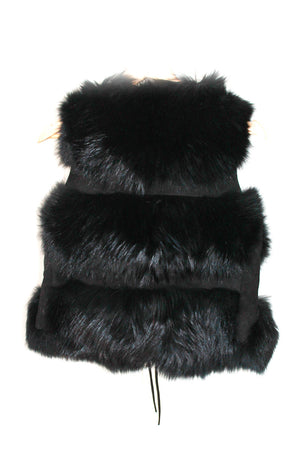 Raccoon Gilet/Vest Black