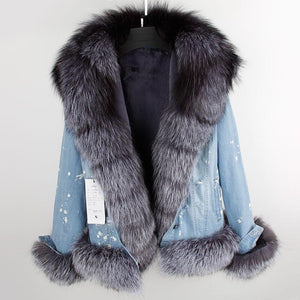 Denim with Fur