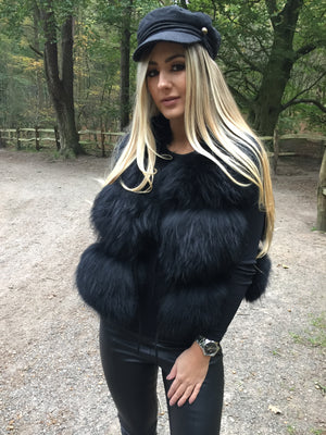 Raccoon Gilet Black