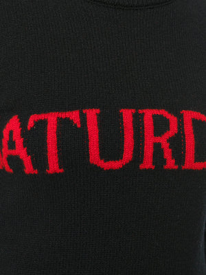 Saturday Jumper - Black & Red