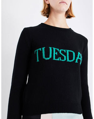 Tuesday Jumper - Black & green