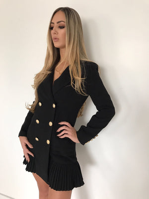 Balmain Inspired Blazer Dress