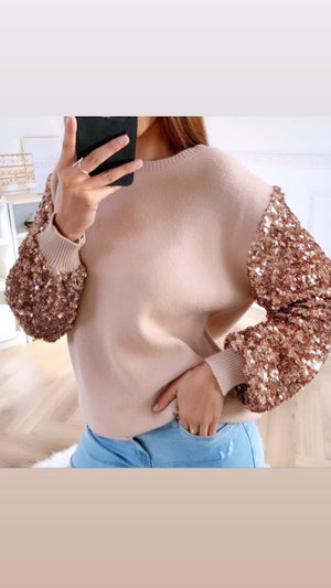 ROSE GOLD JUMPER