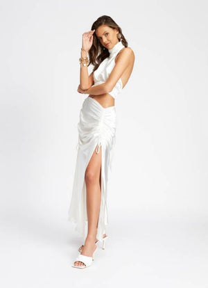 Le Paris Maxi Skirt - WHITE