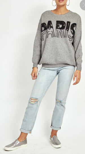 PARIS SEQUIN JUMPER
