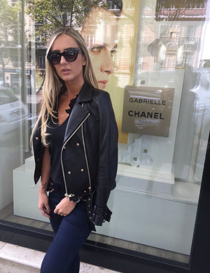 Rosie Biker Leather Jacket