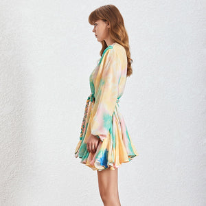 GENEVA DRESS - Tie Dye