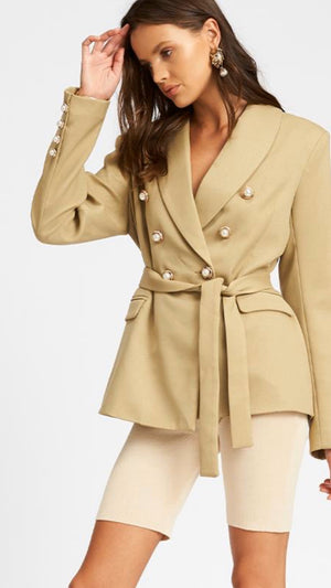 The Kendall Blazer - SAGE