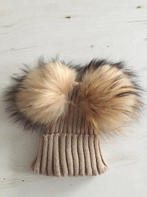 MINI Double Pom Pom Hat