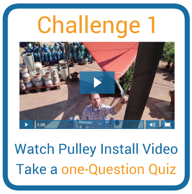 Challenge 1: Pulley Video and One-Question Quiz