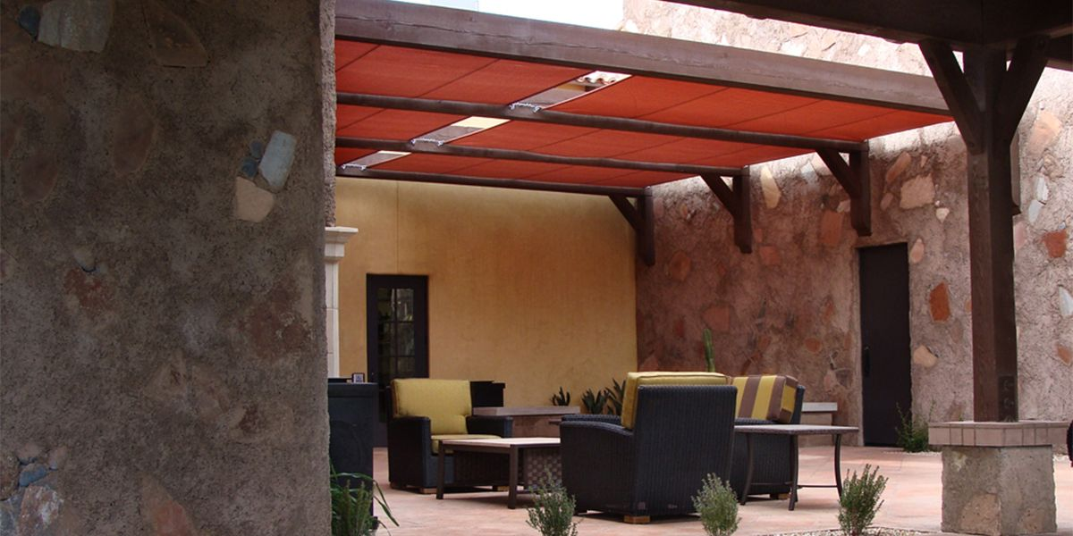 Roman Shades At Encanterra In San Tan Valley, Arizona