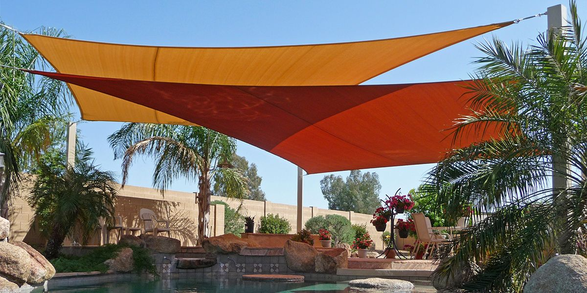 Shade Sails: The Best Way to Beat this Record Breaking Heat ...