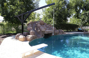 Pool Rope Swing