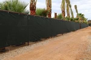 Shade Panels at Desert Horizon Nursery in Arizona