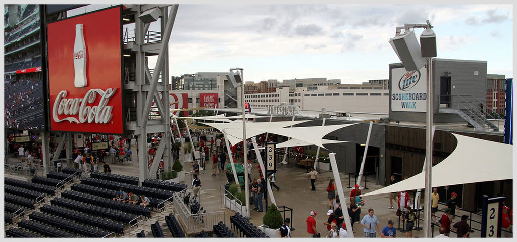 Washington Nationals Shade Sails